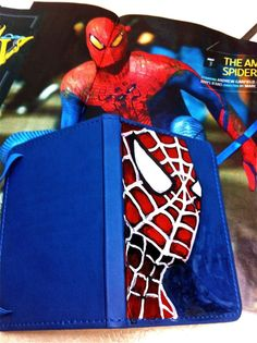 Spiderman Journal. $20.00, via Etsy.