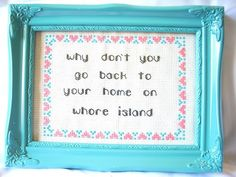 powerful cross stitch