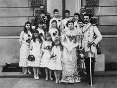Queen Victoria's youngest daughter, Princess Beatrice, married Prince Henry of Battenberg, August 1, 1885