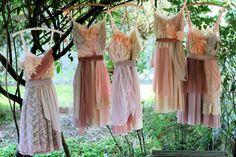 Bridesmaid slip dresses