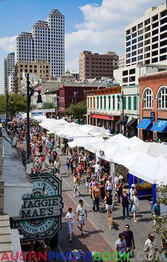 Pecan St Festival - Austin, Texas