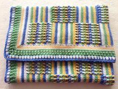 Posts & Stripes Blanket
