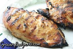 GroceryBudget101.com- - Honey Dijon Marinated Chicken | Dirt Cheap Recipes