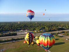 Remax Hot Air Balloon Festival, Midland, Michigan.