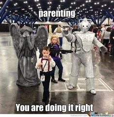 Parenting, you're doing it right. #DoctorWho