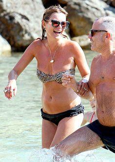 Kate Moss in Ibiza!