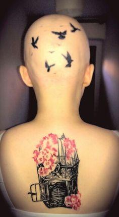 My birdcage tattoo :-)