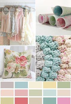 home colors, color palettes, girl room, soft colors, home color schemes, pastel colors, colour palettes, summer colors, soft pastels