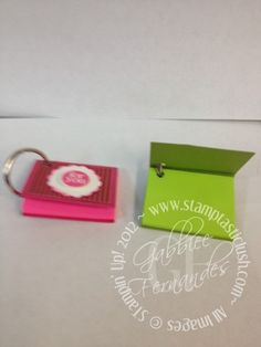Stampin Up! Mini Post It Note