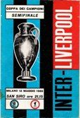 Liverpool v Inter Milan  May 1965
