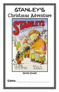 Stanleys Christmas Adventure (Jeff Brown) Novel Study / Reading Comprehension from McMarie on TeachersNotebook.com -  (23 pages)  - A fun, engaging, 23-page booklet-style Novel Study complete with a challenging, book-based Word Jumble and Word Search! Based on 'Stanley's Christmas Adventure' by Jeff Brown.