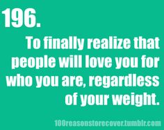 regardless of your weight. #EatingDisorder #ProRecovery #Anorexia #TeamRecovery #BodyImage #Perfectionism #GoodEnough
