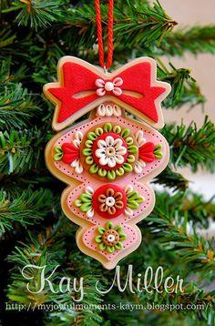 Fabulous clay ornaments.