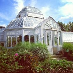 The Greenhouse at Clayton used to supply flowers to all the other Frick homes including the one on Fifth Avenue in New York.