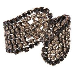 Krystal Black Diamond Bracelet