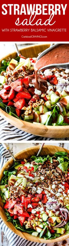 Strawberry Salad bur