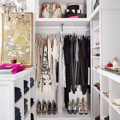 We love a well-organized closet!