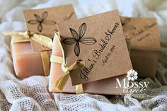 A Wedding Favor should be made to look special like they were prepared just for you and not out of a box.
