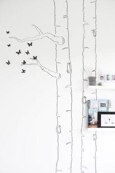 Beautiful Butterfly Wall Decoration DIY