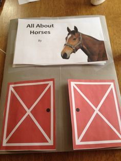 Lapbook about horses