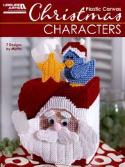 Plastic Canvas Christmas Characters