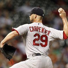 starting pitcher- Chris Carpenter 9-26-12