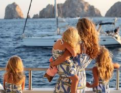 So sweet. little girls, matching outfits, lilly pulitzer, mother, family trips, daughter, future family, futur famili, kid