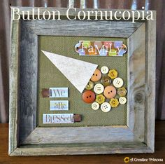 A Creative Princess: Button Cornucopia