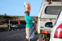 South Africa . Cultures on the road