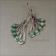 bead earrings, wire earrings, jewelleri, wirework necklac, necklac ring, jewelri jewel, wirework jewelri, wirework earring, jewelri wire