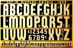 1950s Type Font Design Alphabet Speedball Ink Typography Book | Flickr - Photo Sharing!