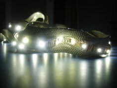 Fabric embedded LED strip