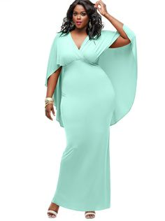 three/four period plus size wedding ceremony attire
