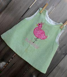 Flamingo Machine Embroidery Design Applique by theappliquediva, $2.99