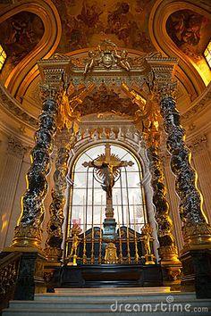The Royal Chapel Of Les Invalides Stock Image - Image: 16359861