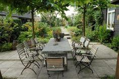 Idee n voor het terras on pinterest - Tuin ideeen ...