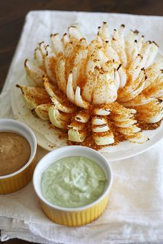 Tex Mex Baked Blooming Onion