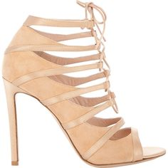Gianvito Rossi Lace-Up Delphine Sandals