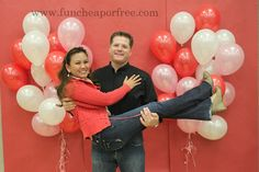 Free/cheap Valentine's Party ideas - games, photo booth, etc.