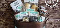 Vintage Ice Cream Gift Basket with FREE Printables