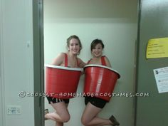 Sexy Red Solo Cups College Costume... This website is the Pinterest of costumes