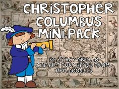 Land, Ho!!!  A Christopher Columbus Mini-Pack