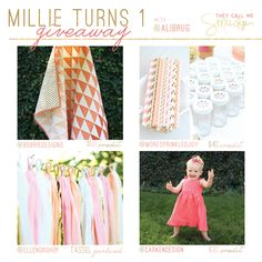 Millie Turns One    Giveaway