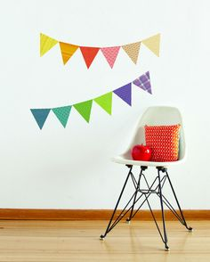Pennants - Fabric Wall Decal