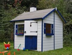 Playhouse [US] = Wendy House [UK] (as in, Wendy from Peter Pan).