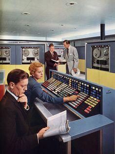 Mainframe Computer.