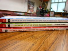 Grammar Girl's books every classroom should have. :)
