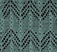 knitting lace stitches on Pinterest Lace Patterns, Stitches and Stitch Patt...