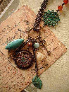 charm necklace idea