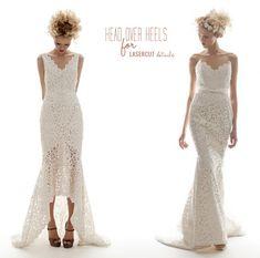 laser cut dress